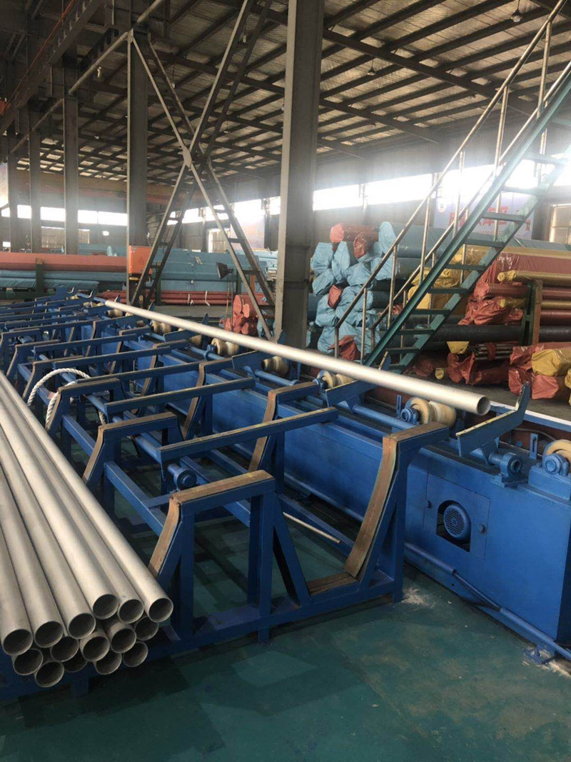 Eddy Current Testing of Tubes in Huashang Steel Workshop